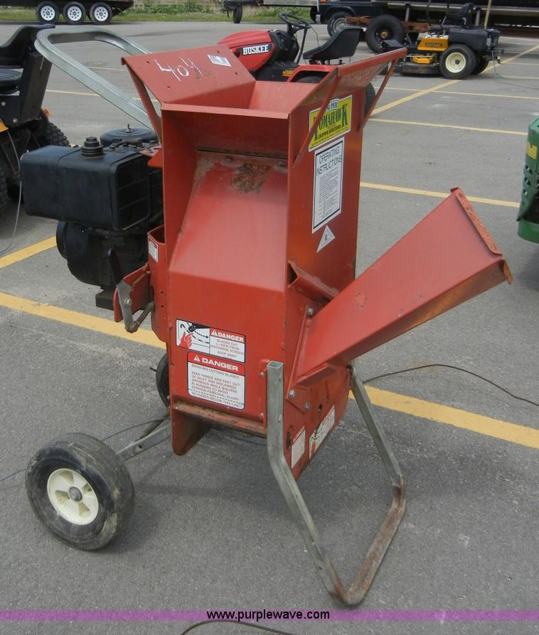 Garden Way Super Tomahawk Chipper Shredder Item 2061 5