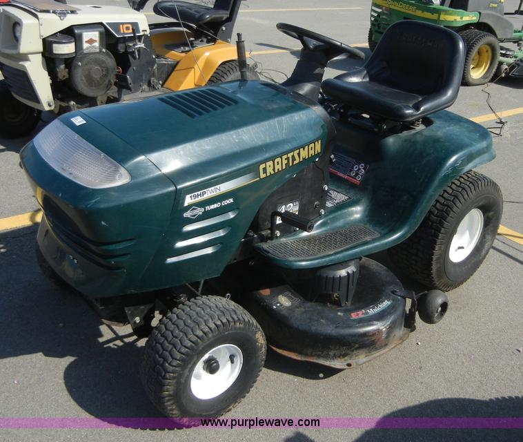 Craftsman Lawn Tractor Item 2120 Sold May 4 Midwest Int