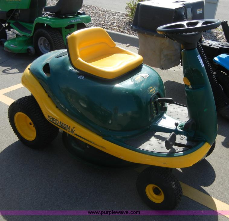 Yard Man Yard Bug Riding Lawn Mower Item 2121 Sold