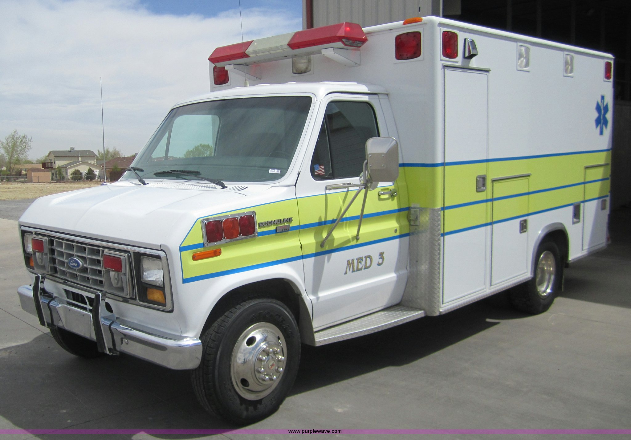1990 Ford E350 Ambulance Item 2974 Sold May 10 Governme