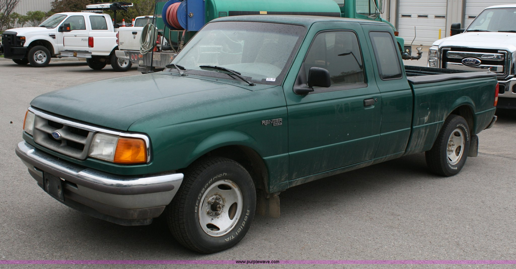 ford ranger 1996 tire size