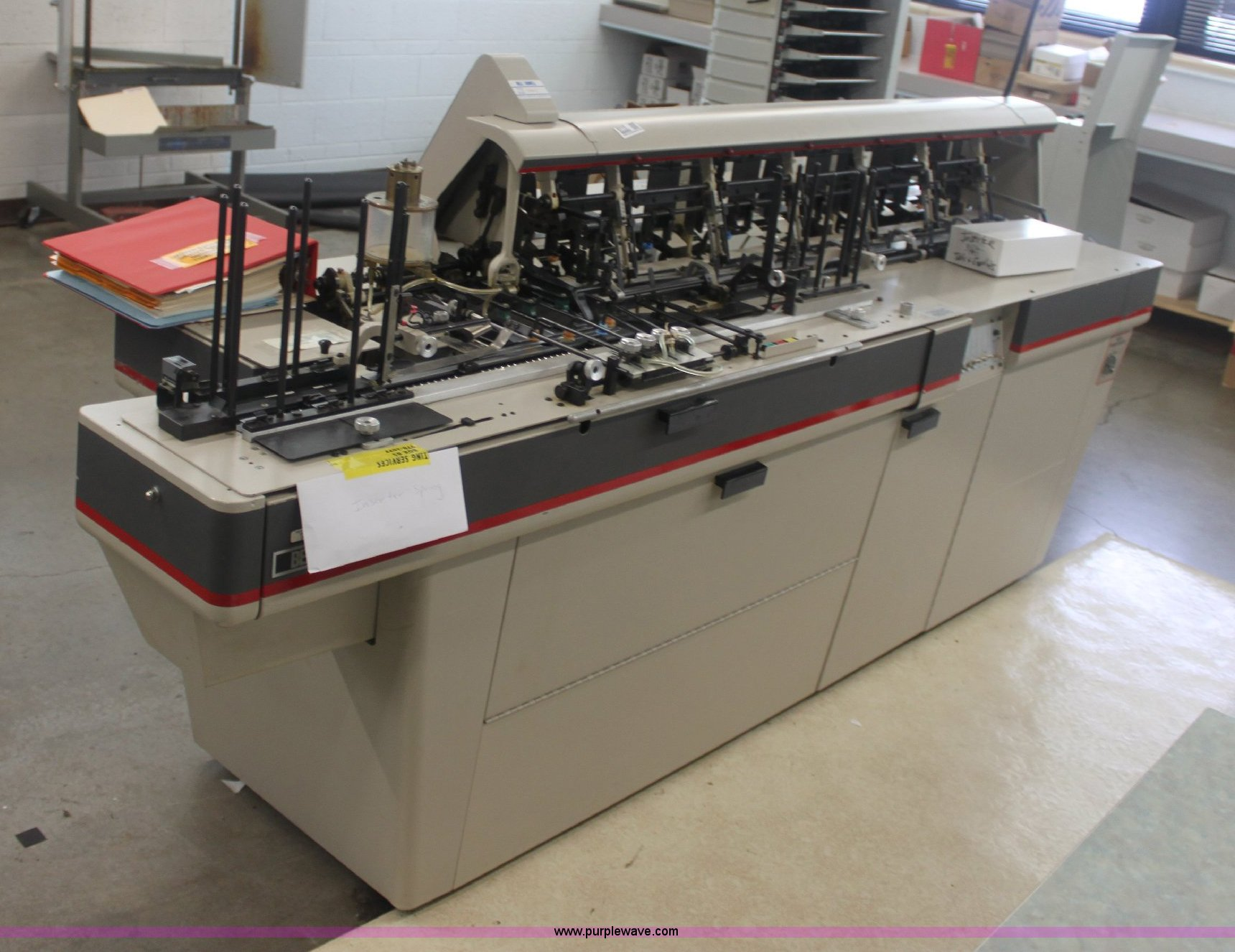 Bell & Howell Phillipsburg inserting machine | Item 6115