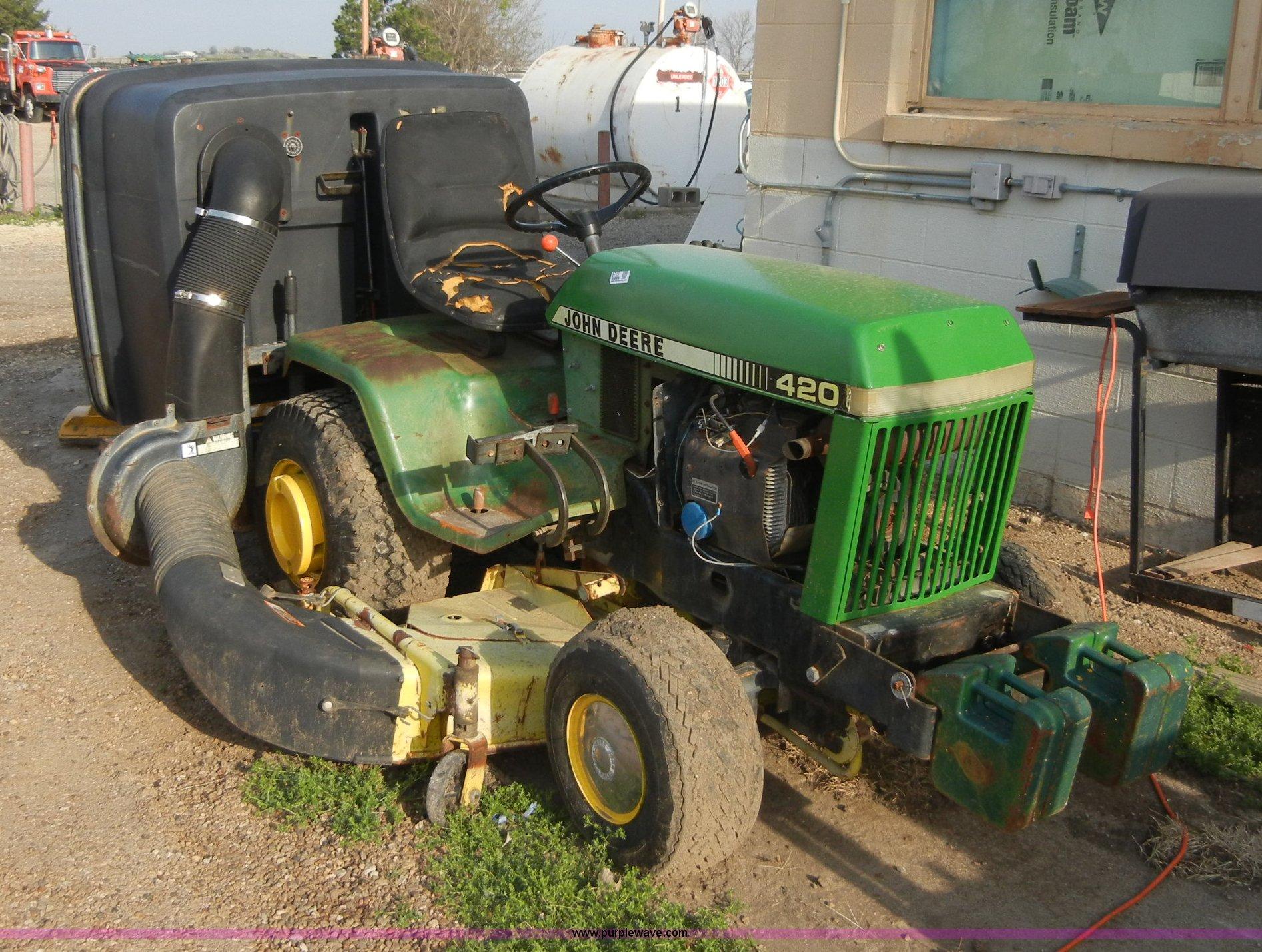 John Deere 420 Garden Tractor Specs Garden Ftempo