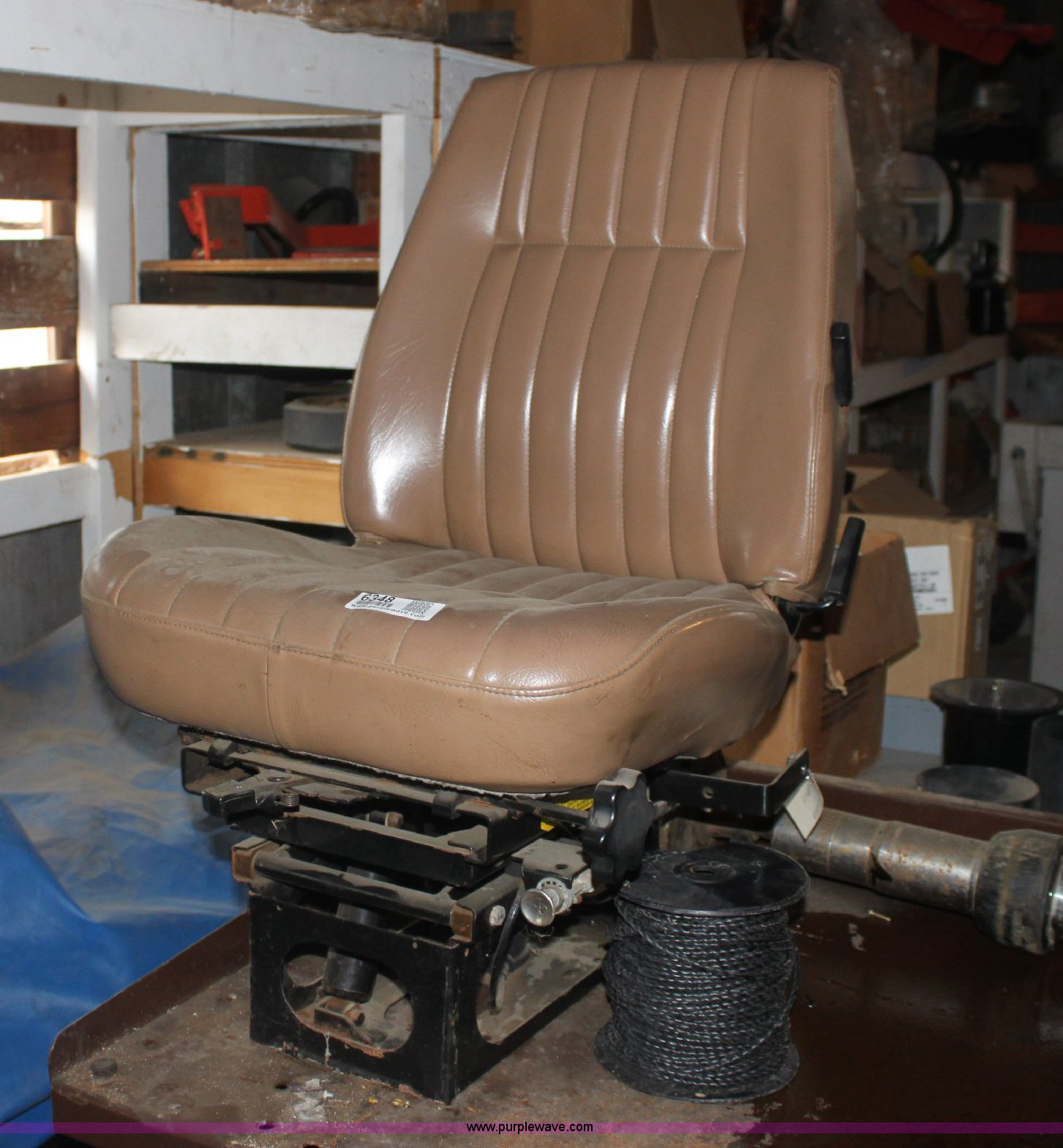 Bostrom 914 air ride seat | Item 6348 | SOLD! May 10 KDOT In