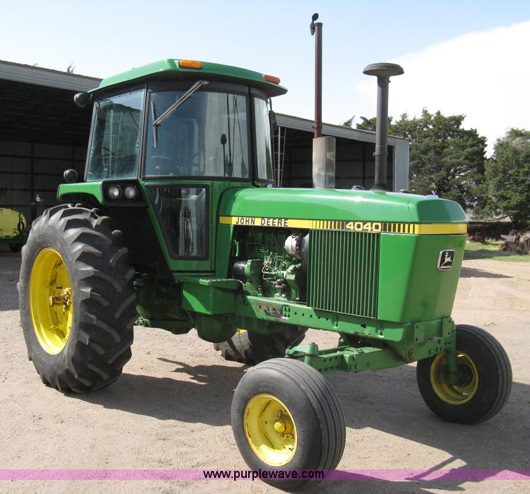 John Deere 4040 : John deere tractor item sold may ag
