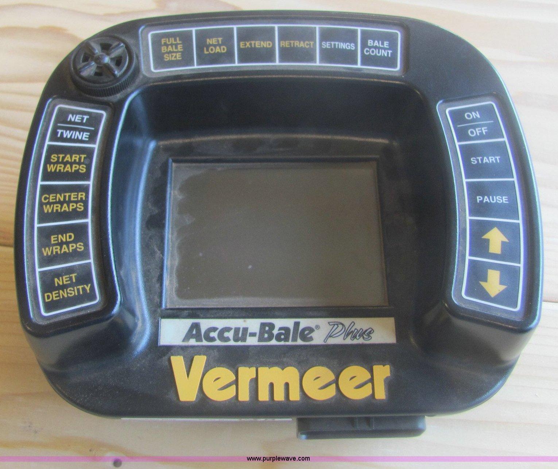Vermeer Accu-Bale Plus bale monitor | Item 6921 | SOLD! May