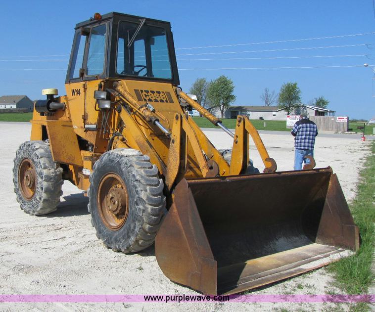 Case W14 wheel loader | Item 8470 | SOLD! May 12 Constructio...