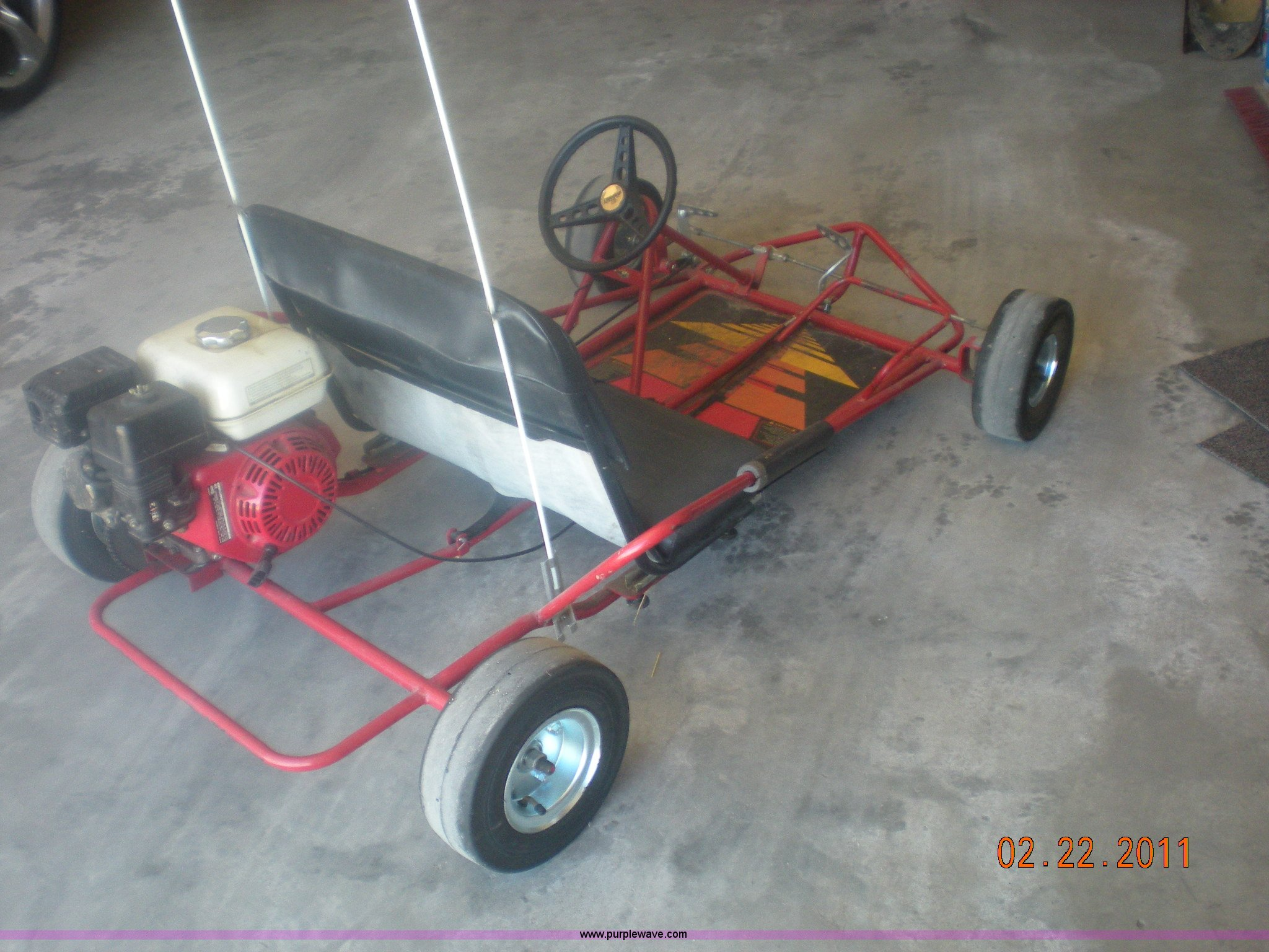 Manco two seater go-kart | Item 4438 | SOLD! May 18 Midwest ...