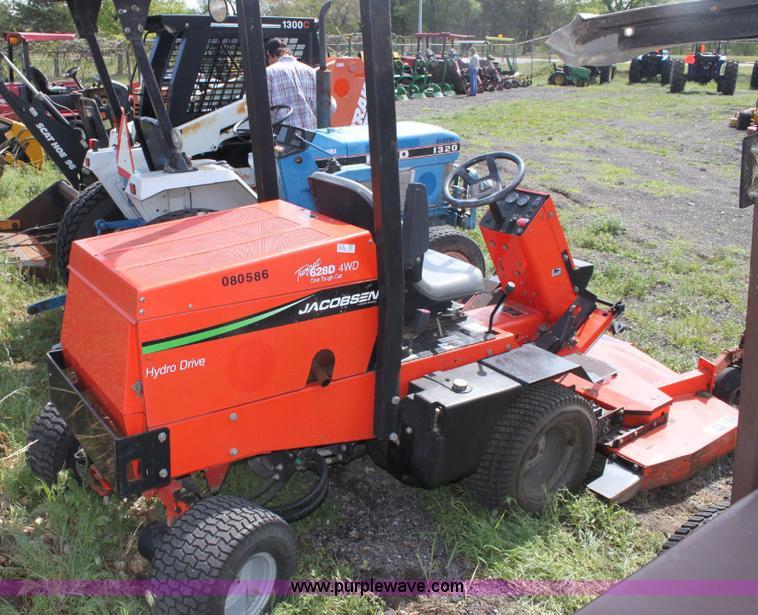 Jacobsen Turfcat 628D riding lawn mower | Item 6236 | SOLD!