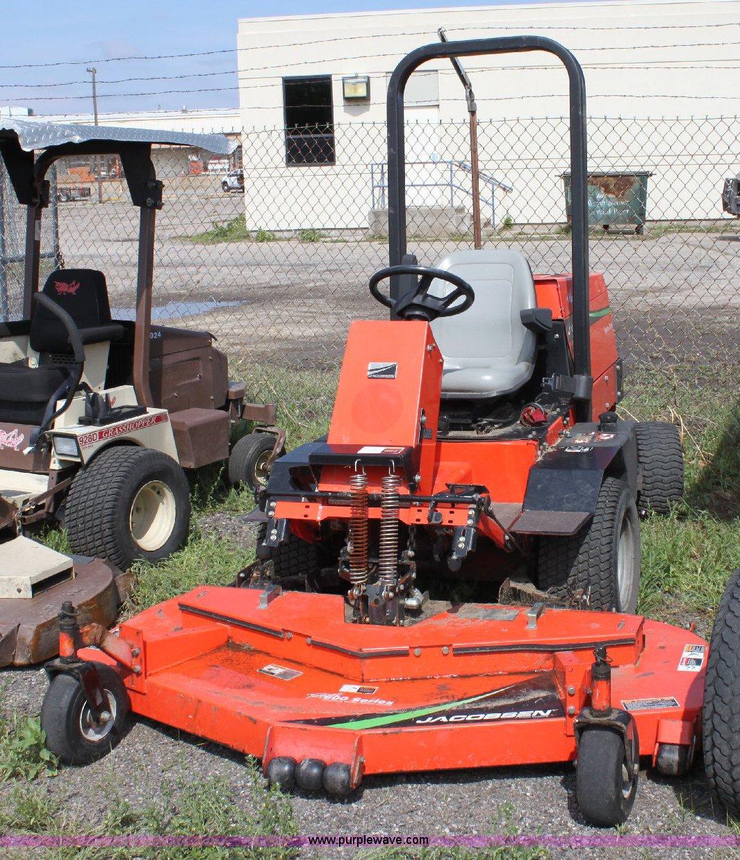 Jacobsen Turfcat 628d Riding Lawn Mower Item 6236 5 18