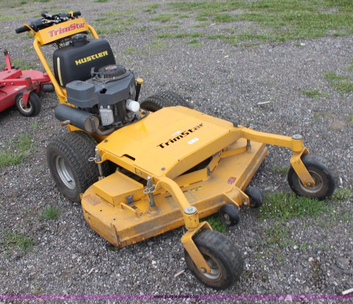Hustler push mower-4506