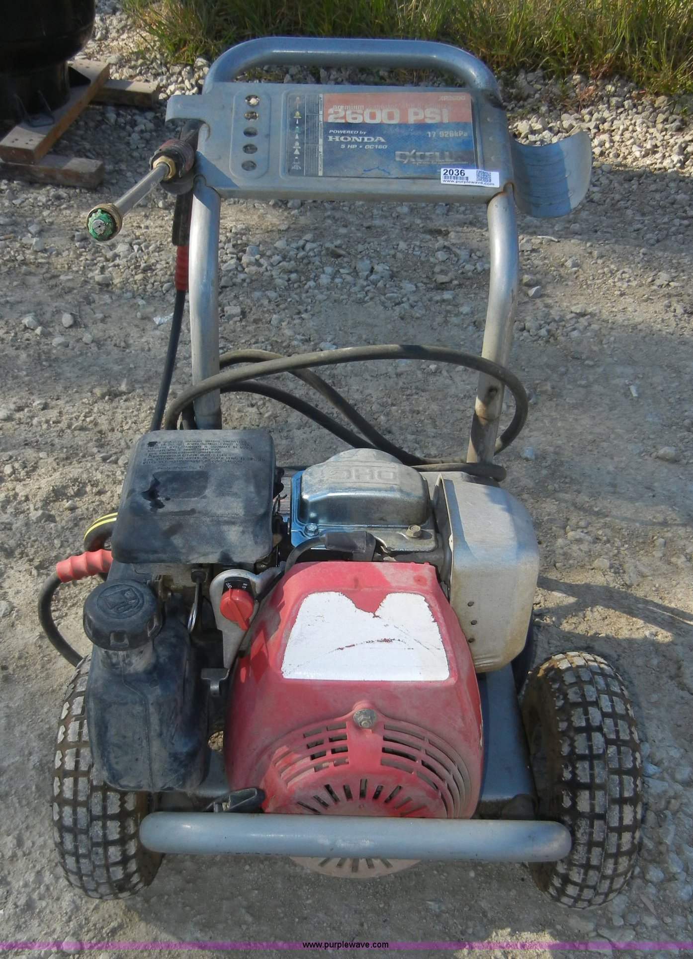 excell xr2600 power washer item 2036 sold may 19 bobcat