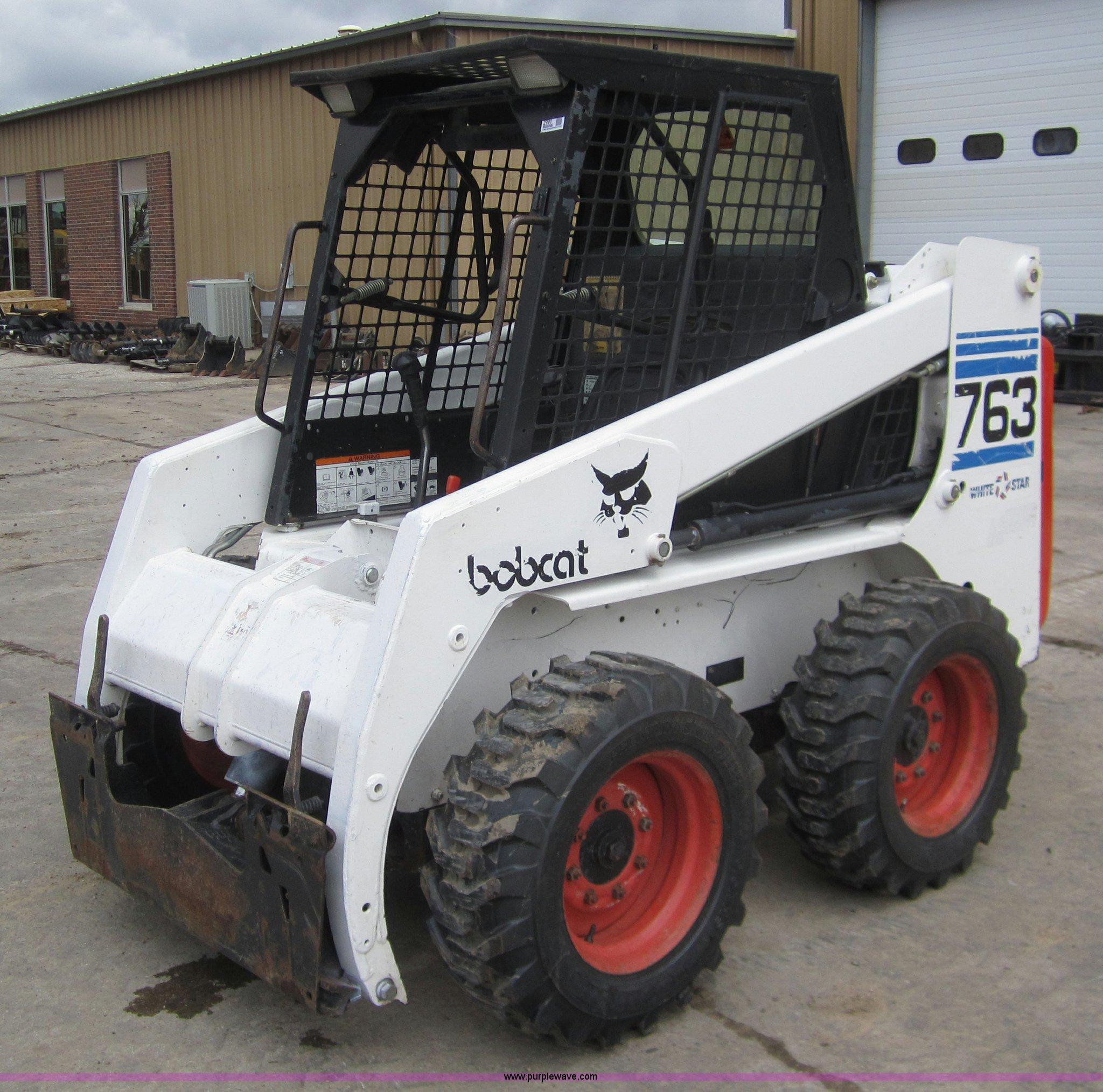 1998 Bobcat 763 Skid Steer Item 2991 Sold May 19 Bobcat