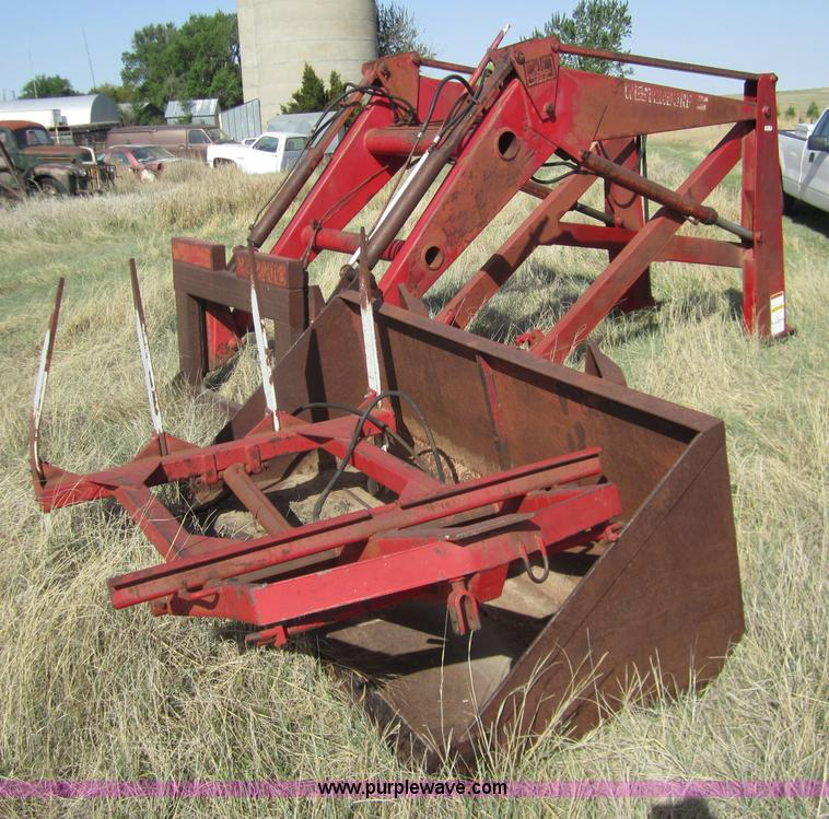 Westendorf loader | Item 3089 | SOLD! May 24 Ag Equipment In