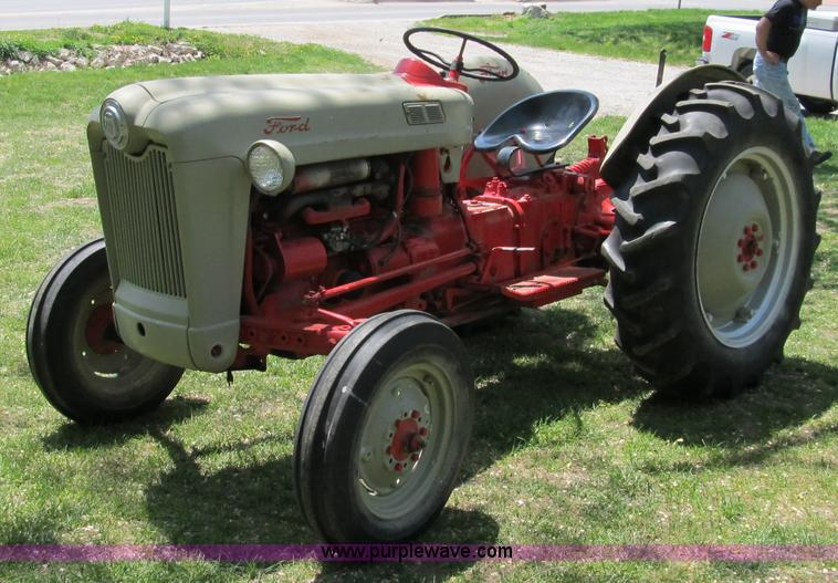Ford Tractor Sayings : Ford jubilee tractor item sold may ag