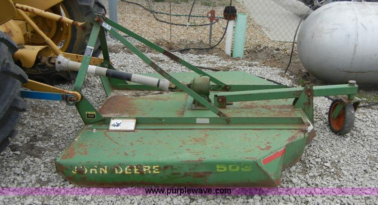 John Deere 503 5' rotary mower | Item 2395 | SOLD! May 25 Cr