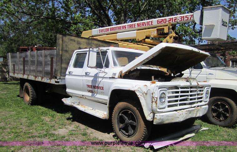1974 ford f700 crew cab dump truck item 3697 sold
