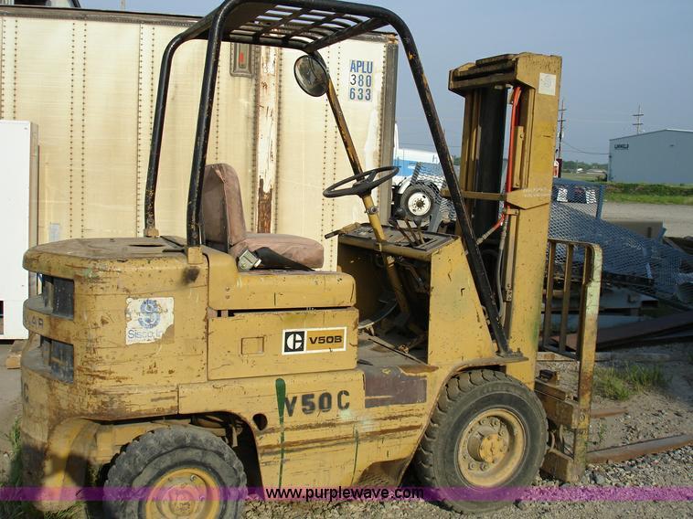 Caterpillar V50B forklift | Item 8723 | SOLD! June 1 Midwest