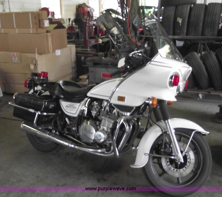 1996 kawasaki kz1000 police motorcycle | item 5538 | sold! j