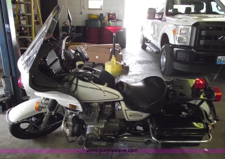 1996 Kawasaki KZ1000 Police motorcycle   Item 5538   SOLD! J