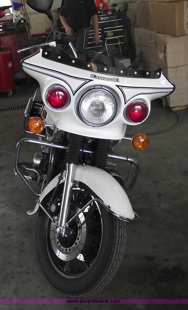 1996 Kawasaki KZ1000 Police motorcycle | Item 5538 | SOLD! J