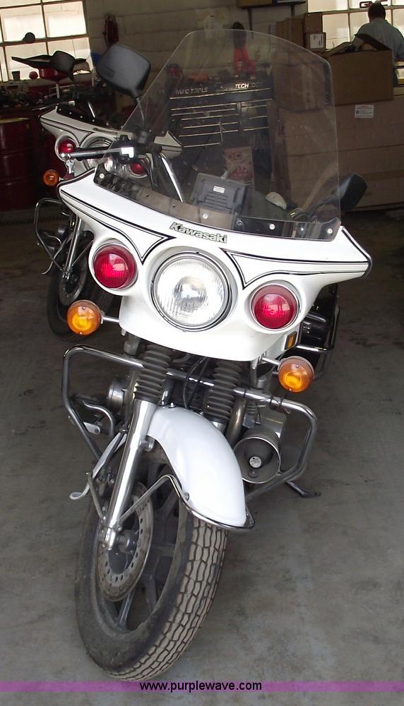 1999 Kawasaki KZ1000 Police motorcycle | Item 5539 | SOLD! J