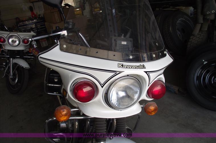 5539 Image For Item 1999 Kawasaki Kz1000 Police Motorcycle: Pursuit Kz1000 Wiring Diagram Lights At Shintaries.co