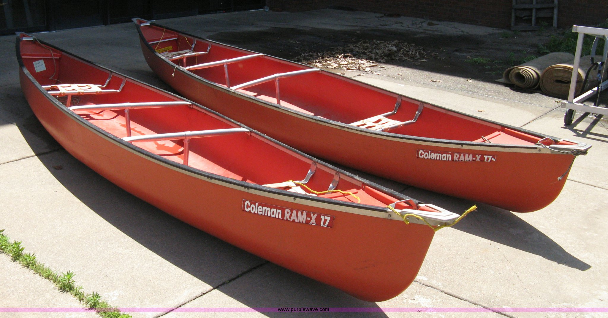 Trucks For Sale Wichita Ks >> (2) Coleman Ram-X17 canoes in Wichita, KS | Item 8092 sold | Purple Wave