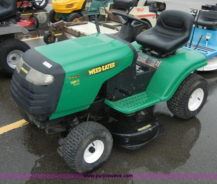 weed eater lawn tractor. 2270 image for item weed eater poulan riding lawn mower tractor e