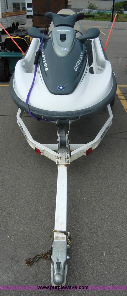 1999 Polaris Genesis jet ski with trailer | Item 2364 | SOLD
