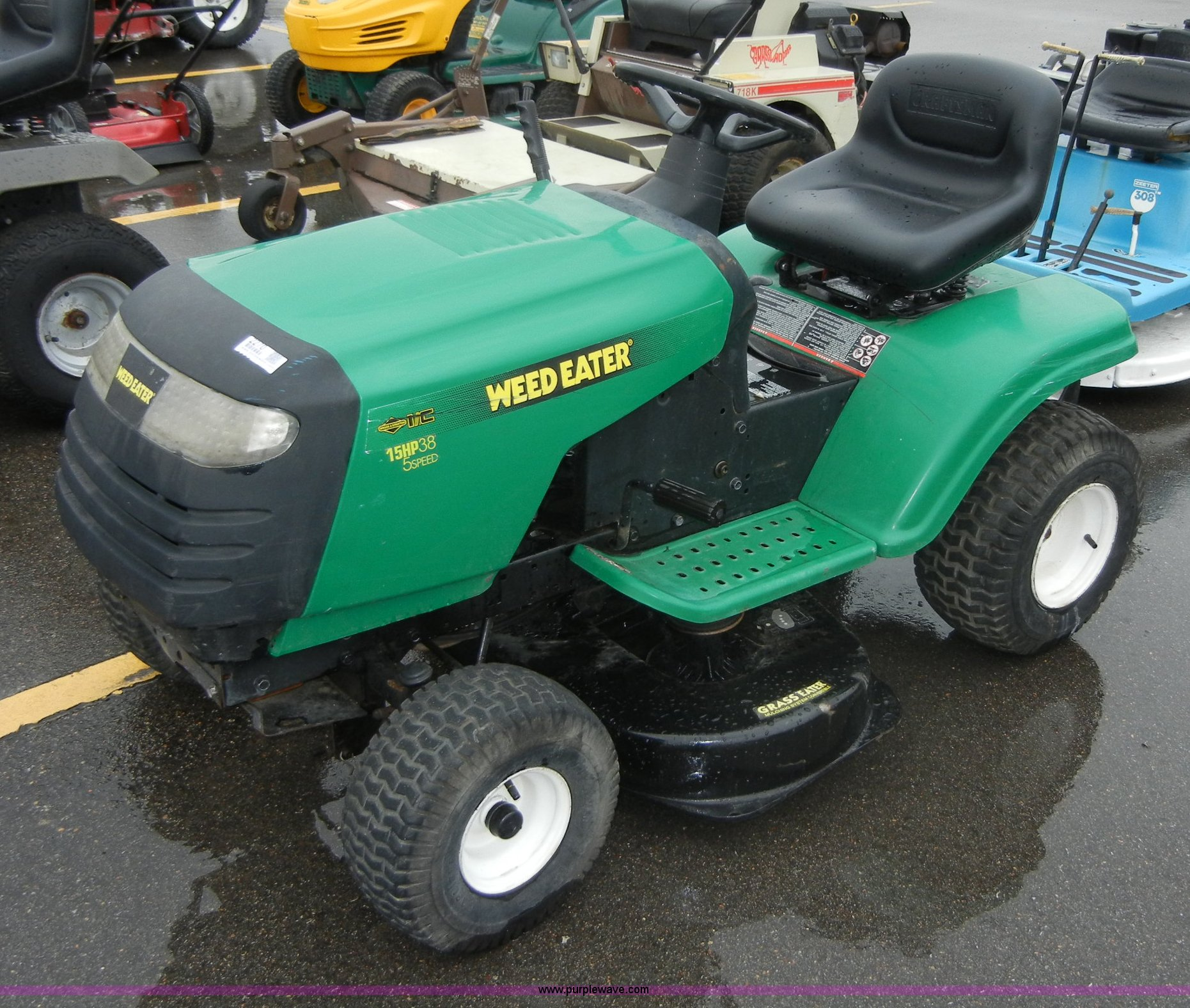 weed eater poulan riding lawn mower item 2270 sold! wedn weed eater riding mower at Weed Eater Rider Mower