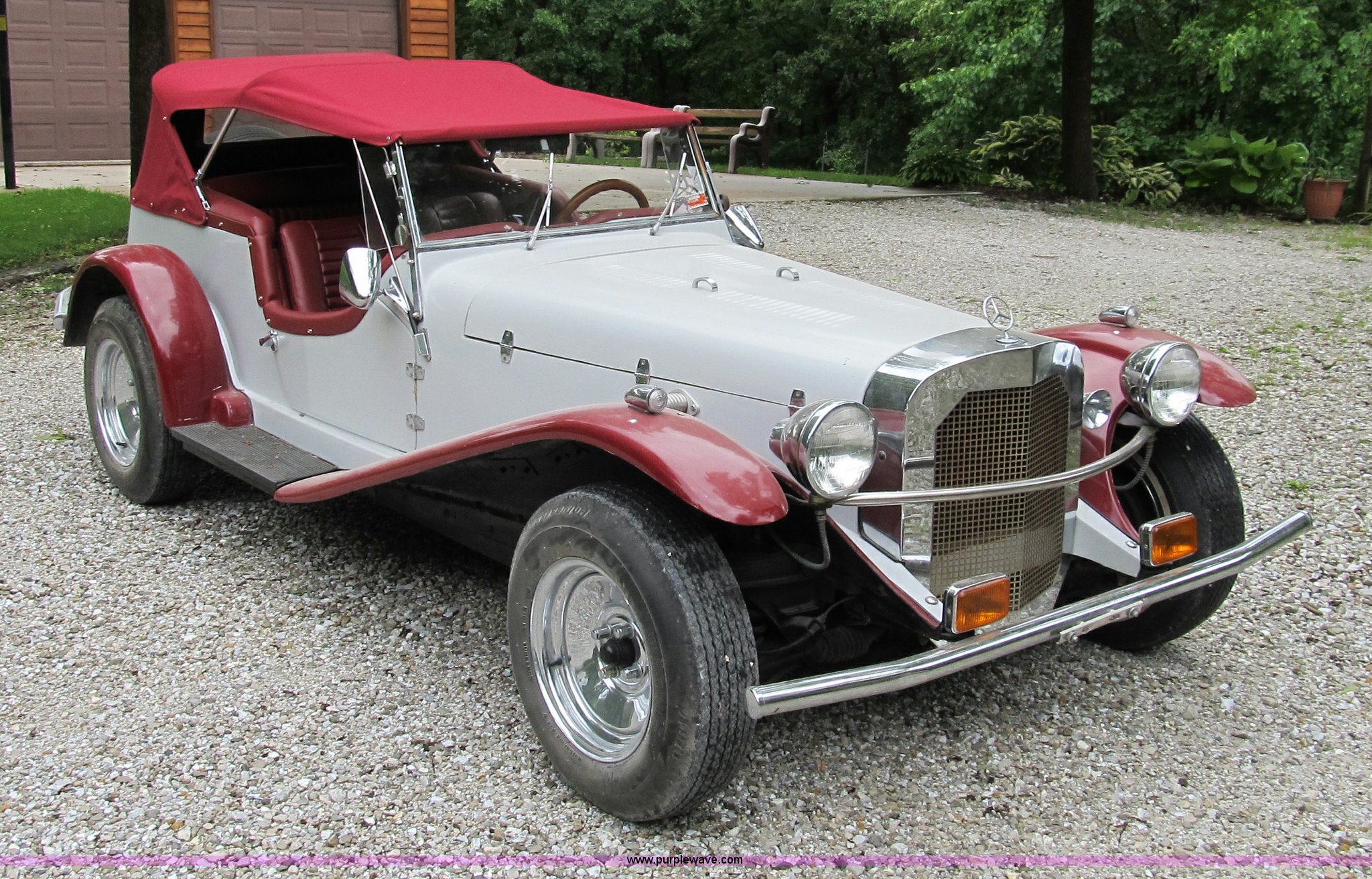 1929 Mercedes Benz Gazelle Convertible kit car | Item 9013 |...