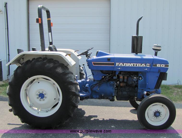 Long Farmtrac 60 tractor | Item 3445 | SOLD! June 16 Constru