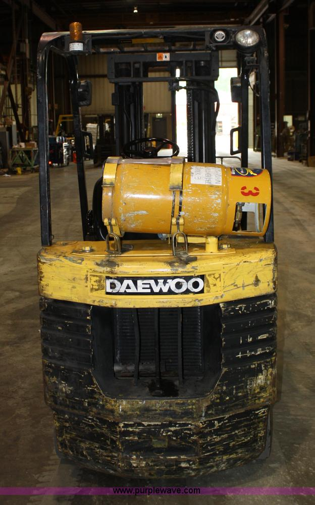 Daewoo gc25s 2 forklift item 5065 sold june 16 for New construction windows for sale
