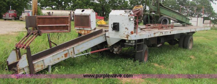 DewEze Bale Monster Hay Wagon Item 3476 SOLD June 29 Ag