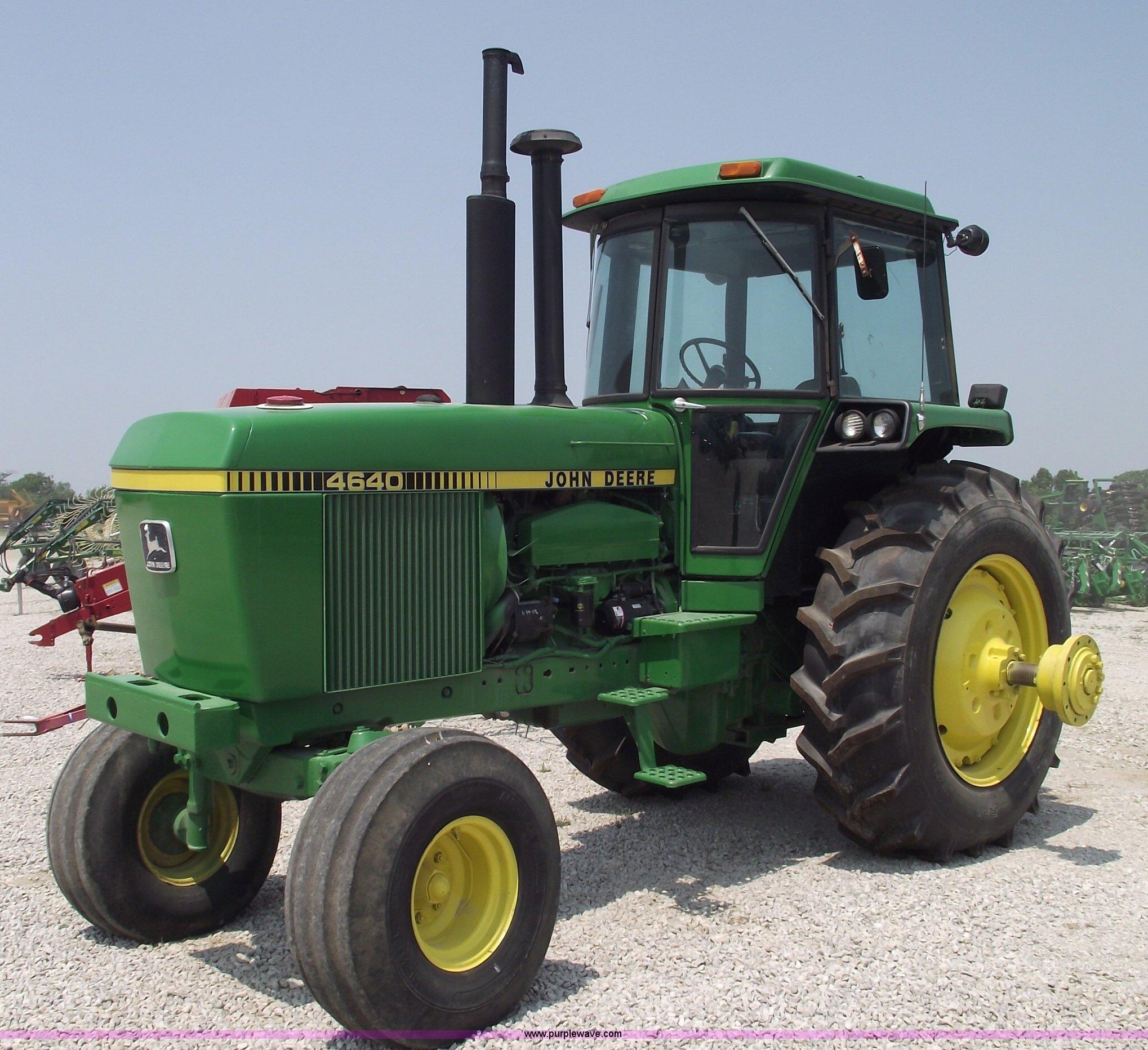 1980 John Deere 4640 Tractor