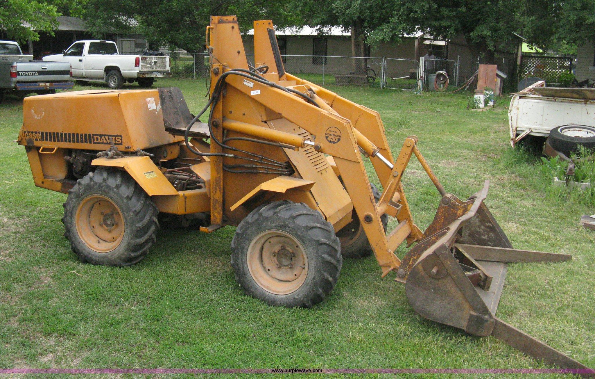 case davis 430 scat back loader in peck ks item 8091 sold purple wave case davis 430 scat back loader in peck