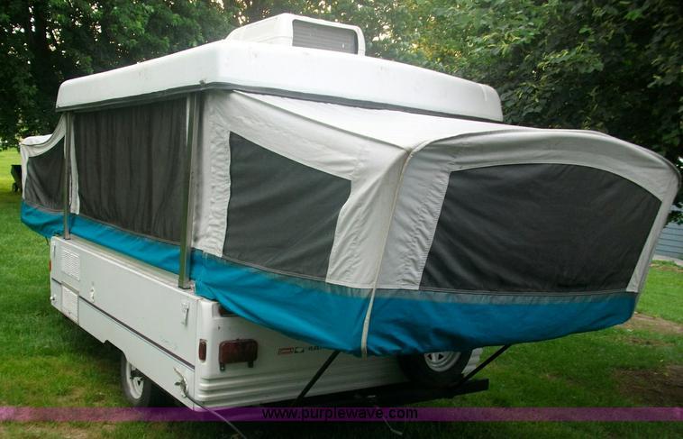 1996 Coleman Fleetwood Santa Fe Pop Up Camper Item 1002