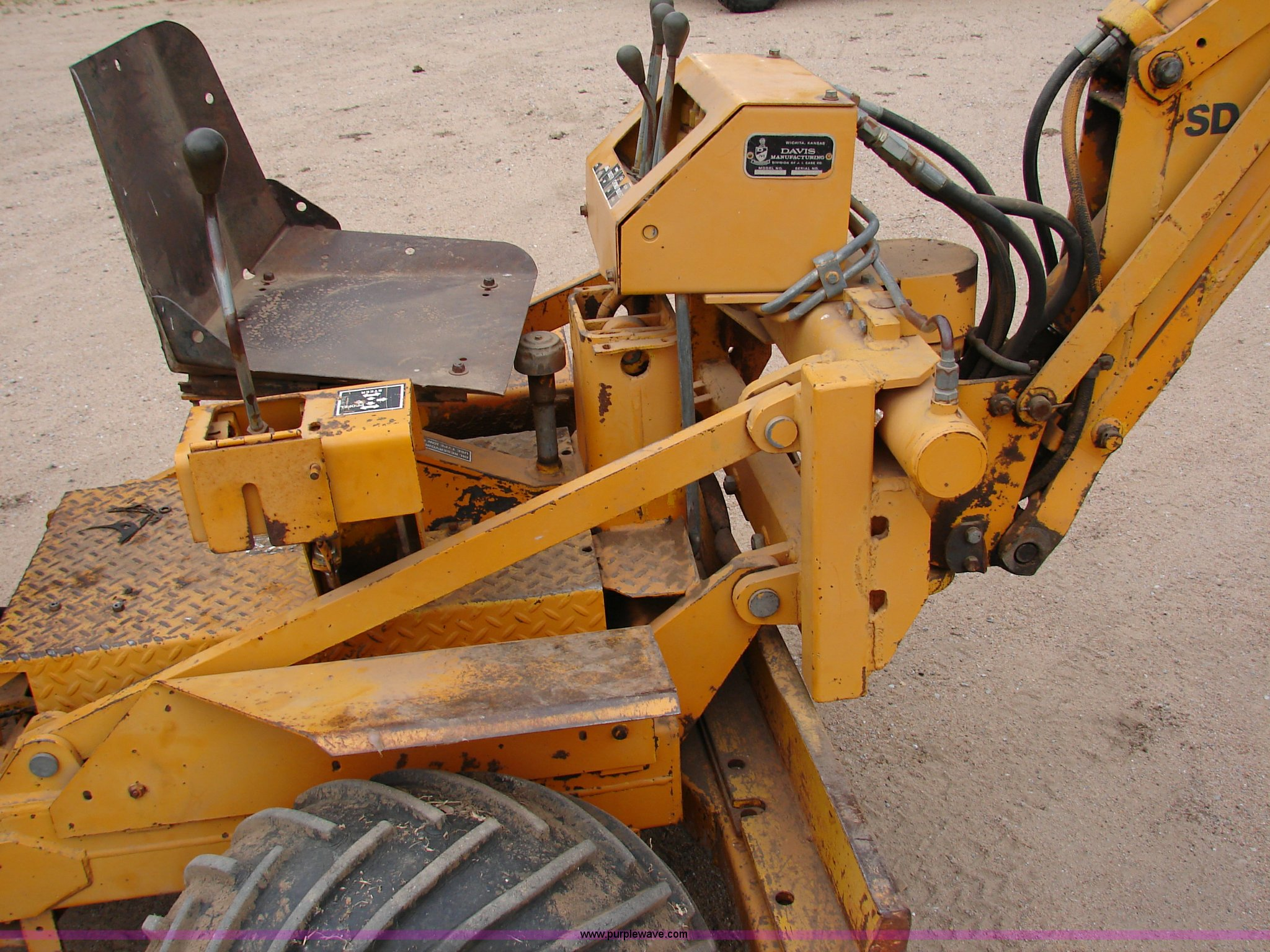 ... Case Davis 30+4 trencher and backhoe combo Full size in new window ...