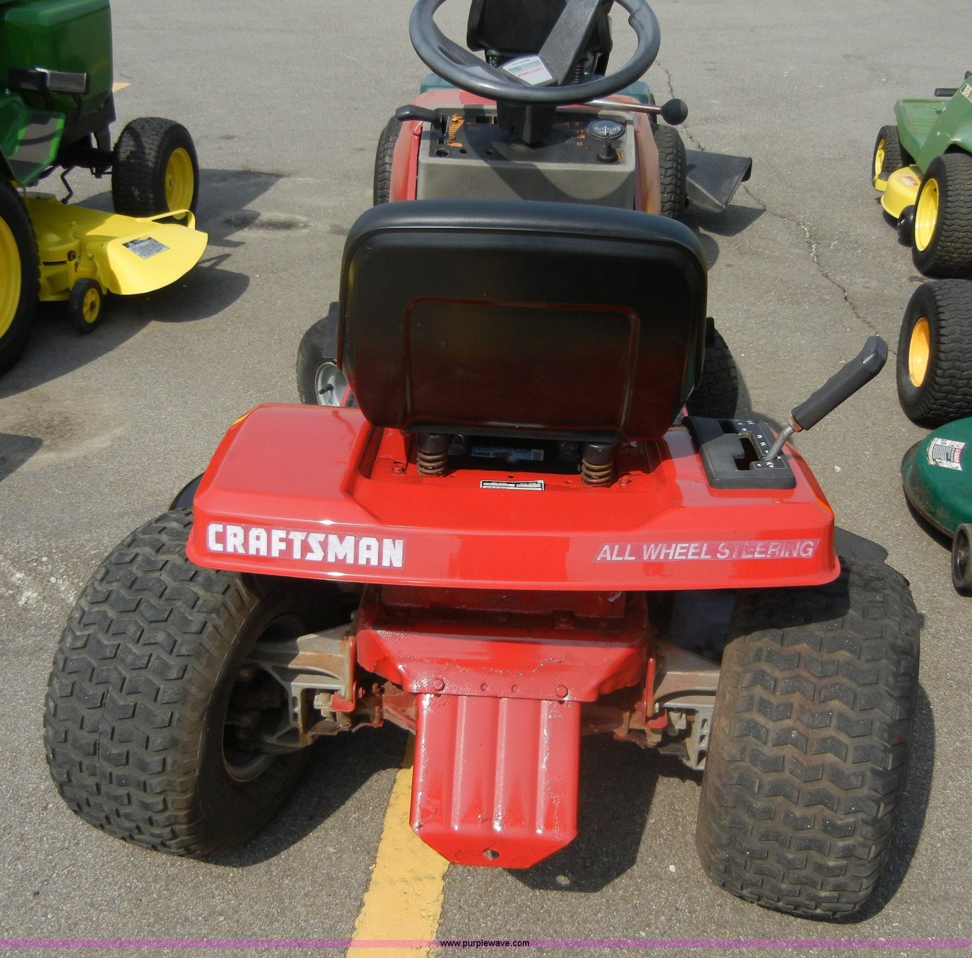 Craftsman lawn mower | Item 2369 | SOLD! June 29 Midwest Int