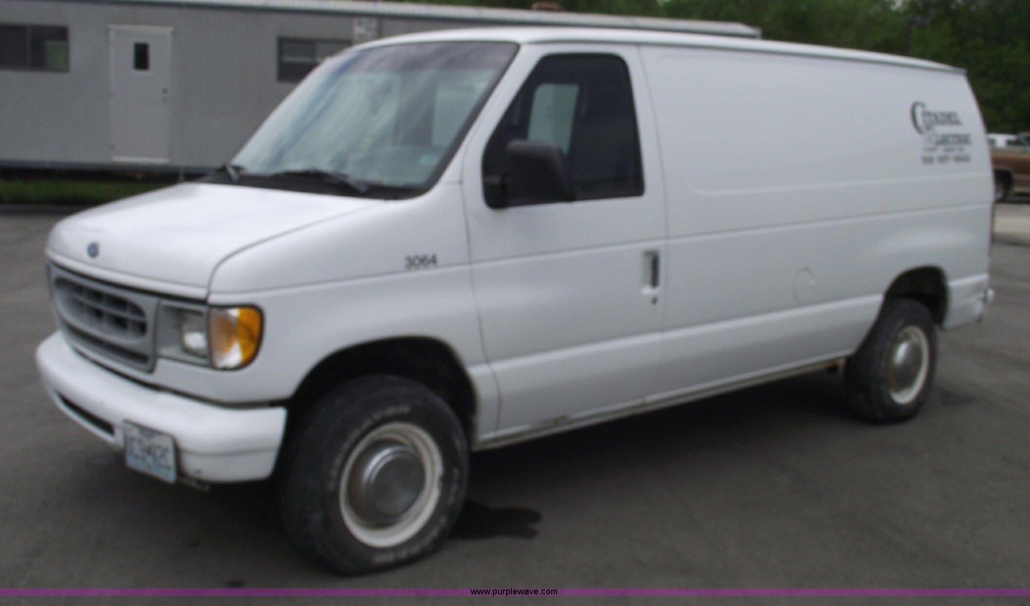 1997 Ford E250 Econoline cargo van | Item 5577 | SOLD! June