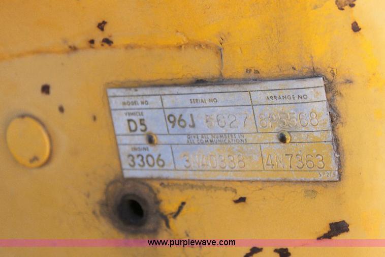 1976 Caterpillar D5 dozer | Item 6085 | SOLD! June 30 Constr