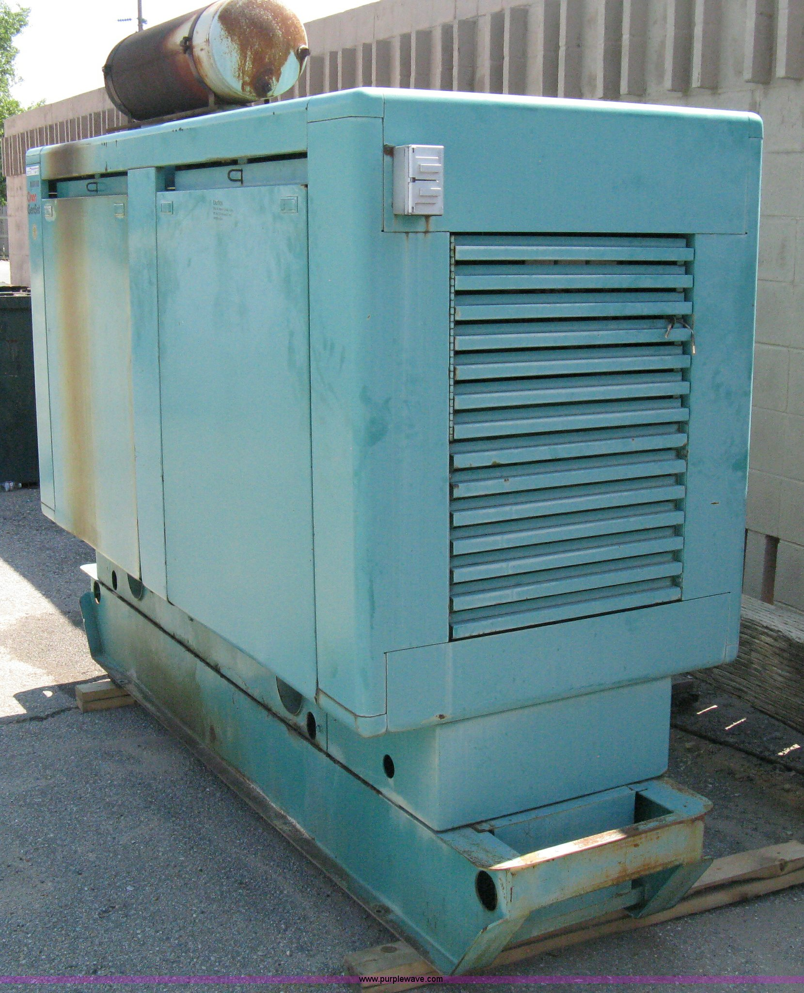 an GenSet Tech Star 70 industrial generator Item A9487