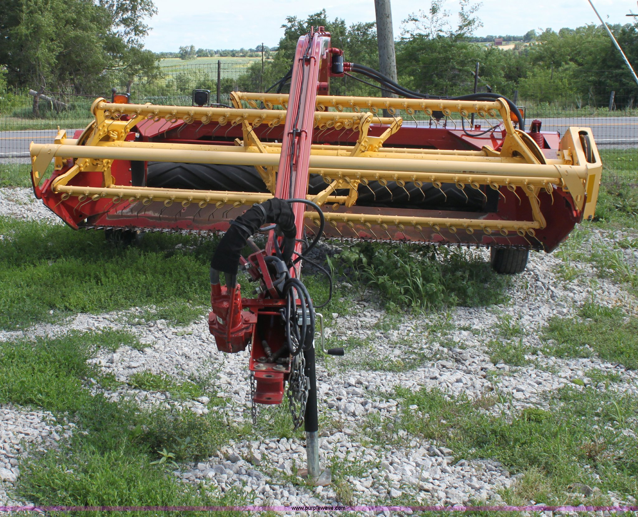 ... Holland 499 Haybine 12' swather Full size in new window ...