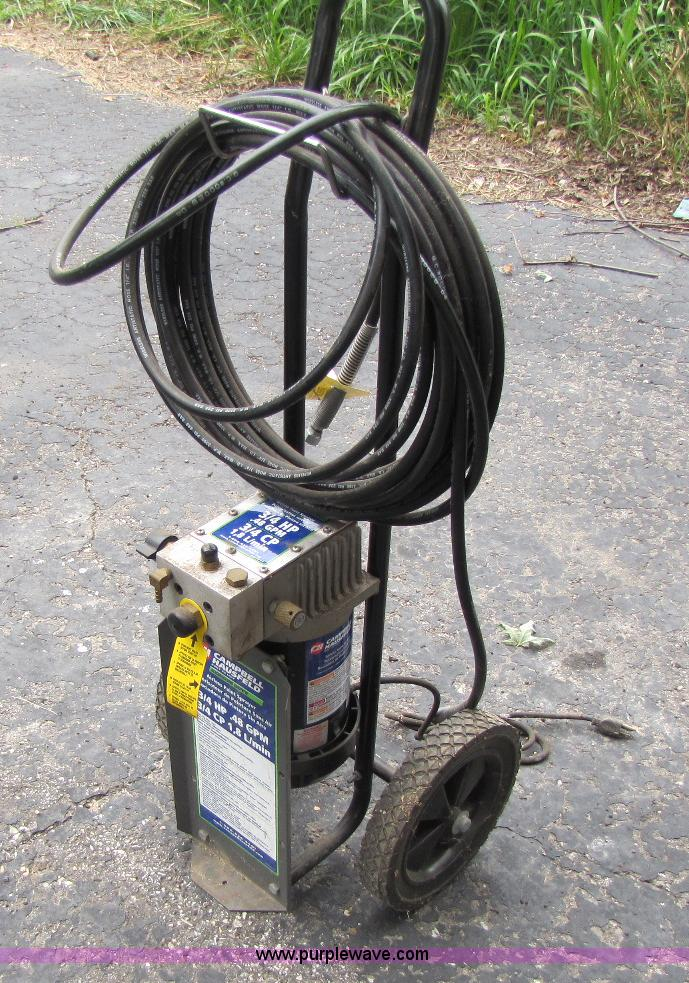 Campbell Hausfeld Paint Sprayer Item A9649 Sold July