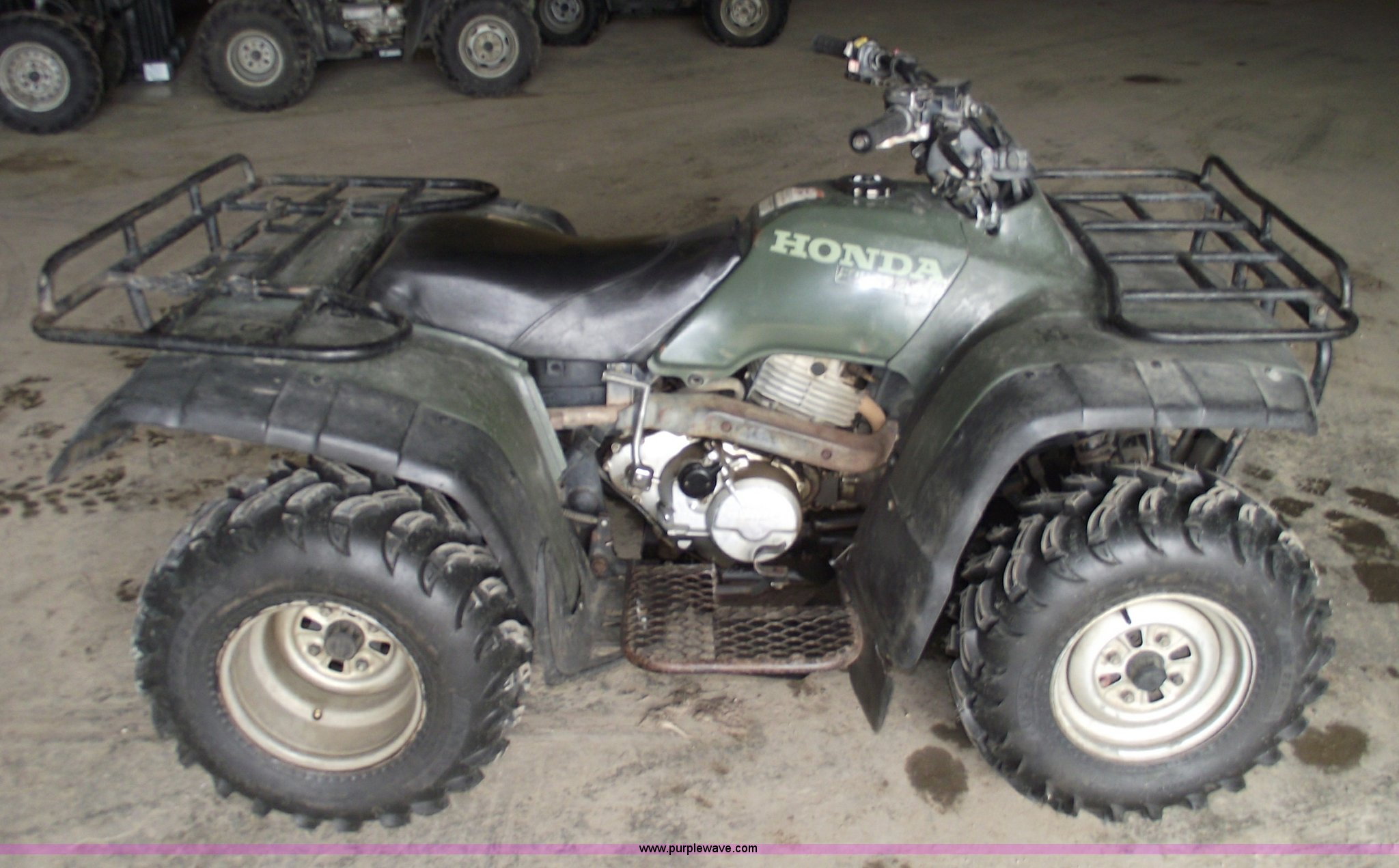 for four wheeler ju auction honda item image sold fourtrax