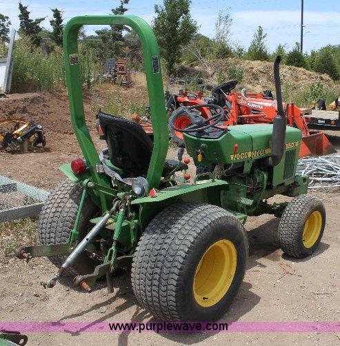 John Deere 650 Fwa Lawn Tractor In Hesston  Ks