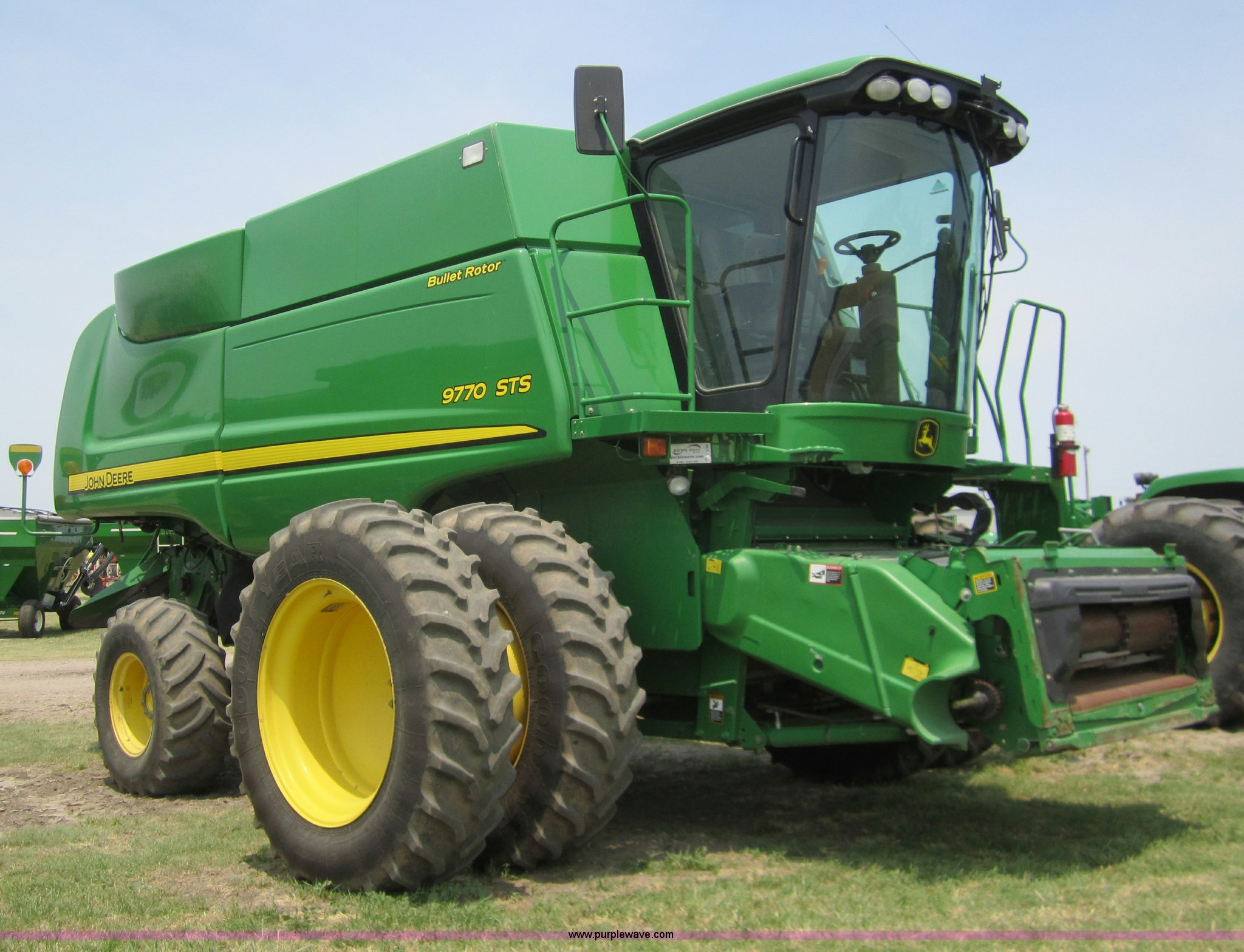 A3750 image for item A3750 2009 John Deere 9770 ...