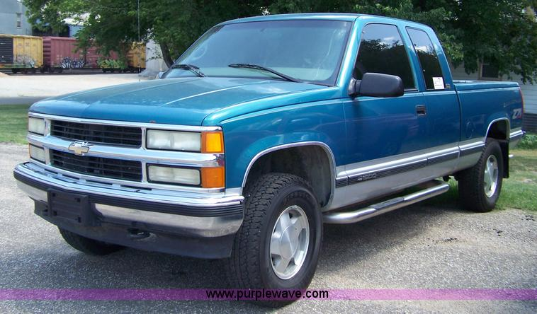 1997 chevrolet silverado 1500 z71 extended cab pickup truck. Black Bedroom Furniture Sets. Home Design Ideas