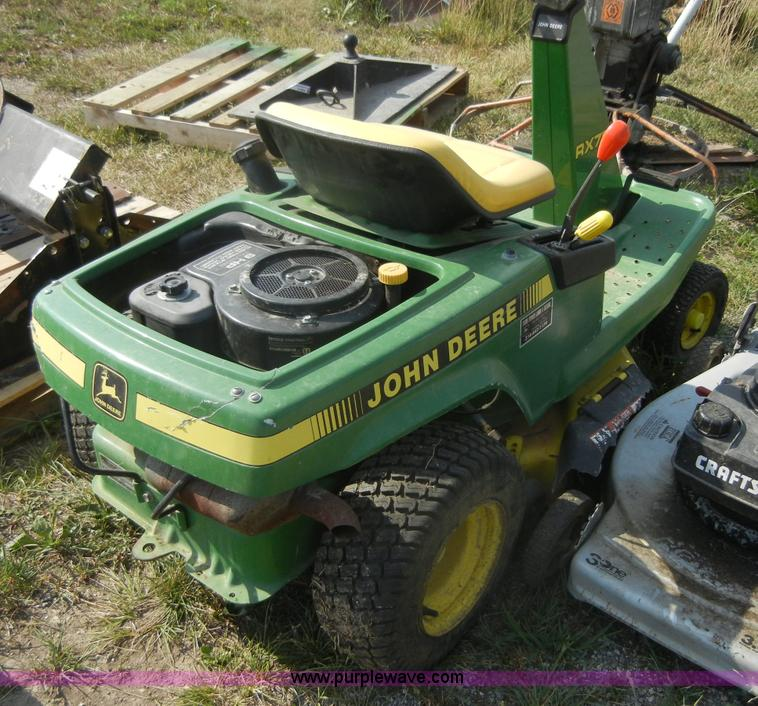 1990 John Deere RX75 Lawn & Garden and Commercial Mowing